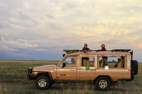 véhicule masai mara