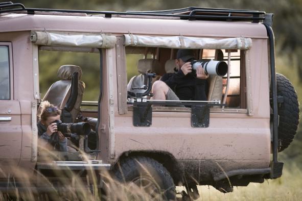 véhicule spécial photographe
